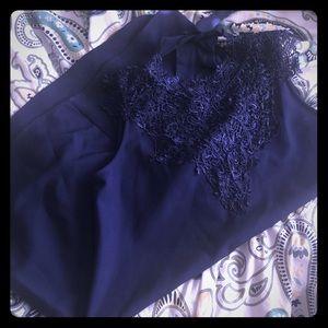Cute navy blue dress 👗!